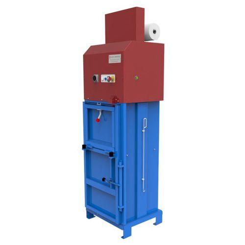 compactador de resíduos de papelão