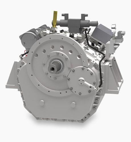 redutor para iate / para motor / com embreagem hidráulica