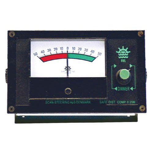 indicador para barco / de ângulo do leme / analógico