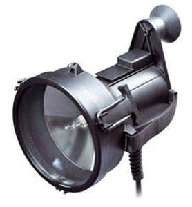 projetor de sinalização / para navio / halôgeno / portátil