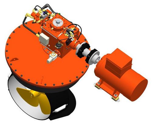 propulsor azimutal / para navio / elétrico / L-drive