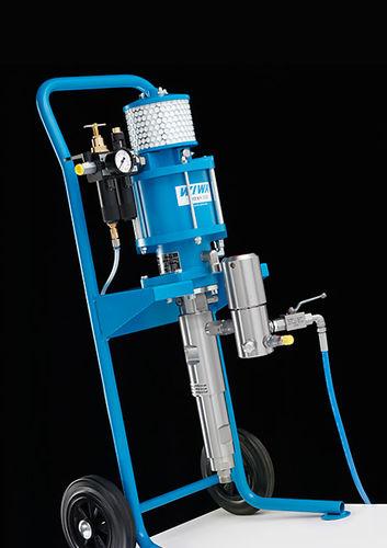 máquina de pulverização de tinta para estaleiro naval