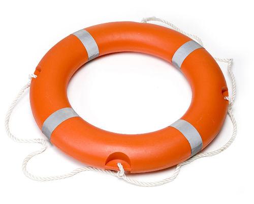 boia circular para barco