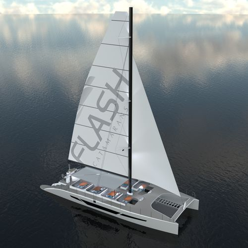 catamarã / de charter / 2 camas