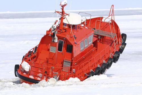barco para transporte de pilotos / com motor de centro / em alumínio