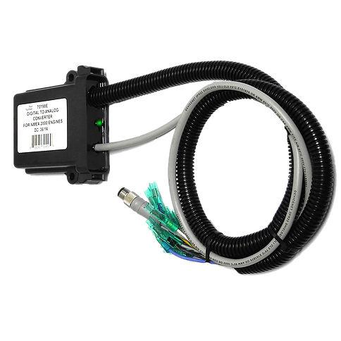 conversor de sinal / NMEA / digitais / analógico