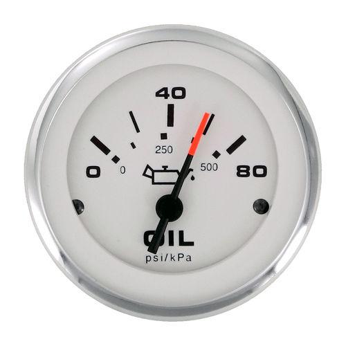 indicador para barco / de pressão de óleo / analógico