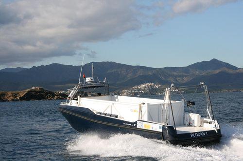barco profissional barco para pesquisa oceanográfica