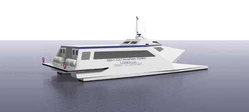 ferry de passageiros de alta velocidade