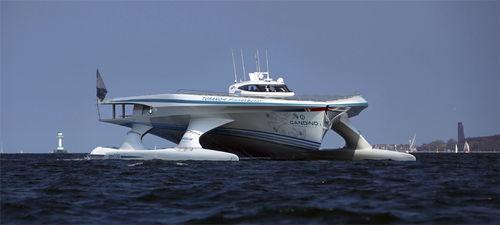 super-iate catamarã