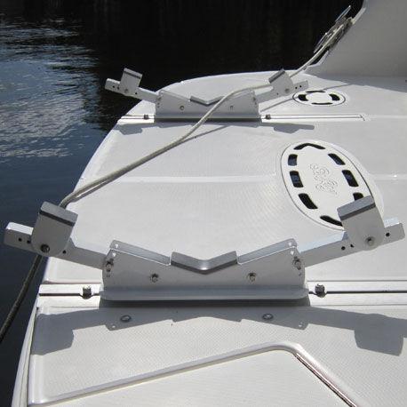 suporte para bote auxiliar para plataforma / para barco / para iate