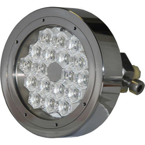 iluminação subaquática para iate / de LED / passa-casco / multicolor