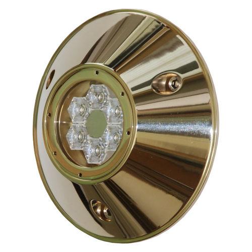 iluminação subaquática para barco / de LED / para montagem em superfície / em bronze
