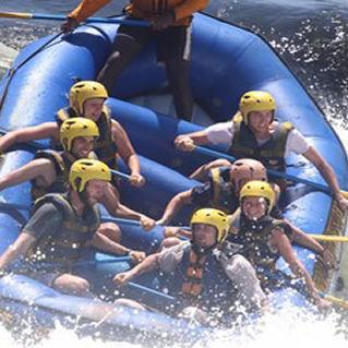 bote de rafting de 6 lugares
