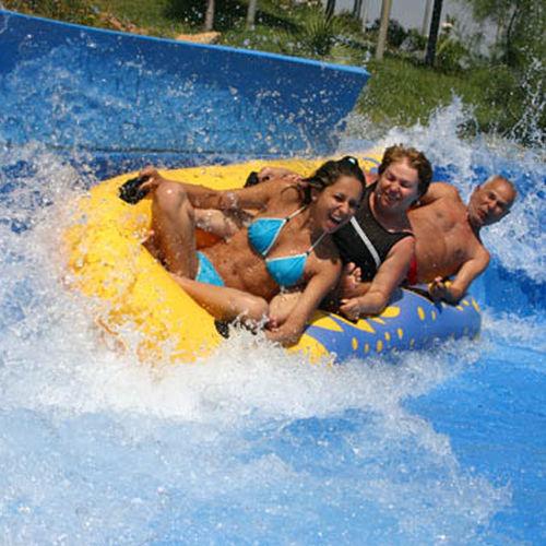 boia para parque aquático para 3 pessoas