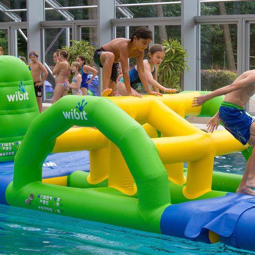 equipamento de diversão aquática de convés