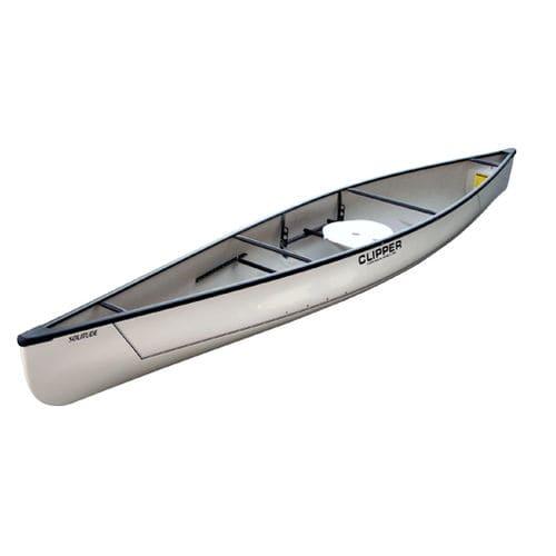 canoa multiusos / de 1 lugar / em fibra de vidro