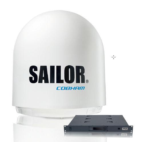 antena VSAT / Satcom / Banda Ku / para barco