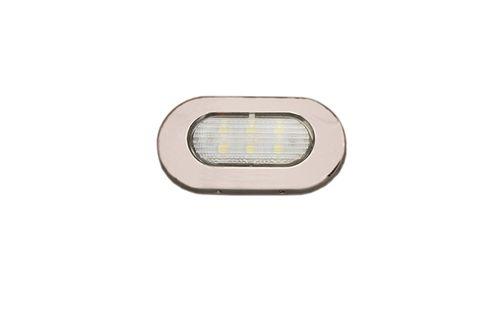 luminária para ambiente interno / para barco / de LED / embutida