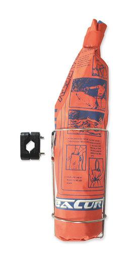 cabo náutico de salvamento de homem ao mar / flutuante / com trançado plano / para barco