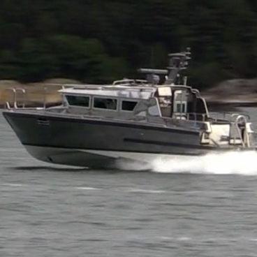 barco profissional barco para transporte de tripulação