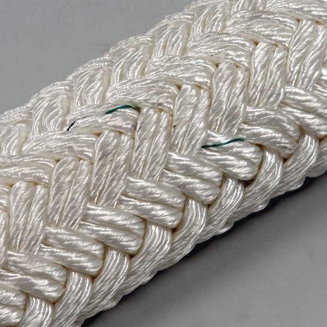 cabo náutico multiusos / com trançado duplo / para veleiro / alma em nylon