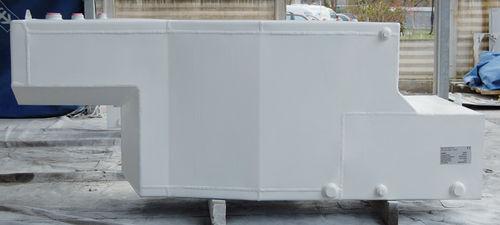 tanque de combustível / para água / para barco / em alumínio