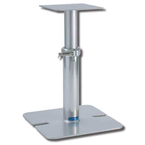 pé de mesa ajustável / telescópico / em alumínio