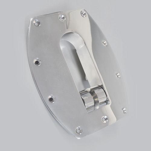 lançador de âncora de rolo / em aço inox
