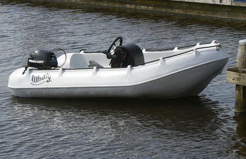 bote com motor de popa / open / com console central / rotomoldado
