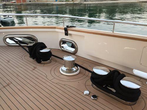guia de cabos para barco / de convés