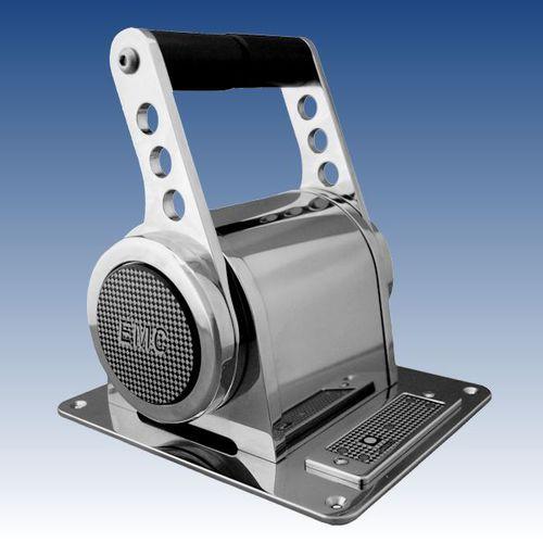 alavanca de comando para motor / digital / alavanca múltipla / para barco