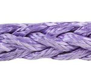 cabo de amarração / de reboque / com trançado plano / para navio