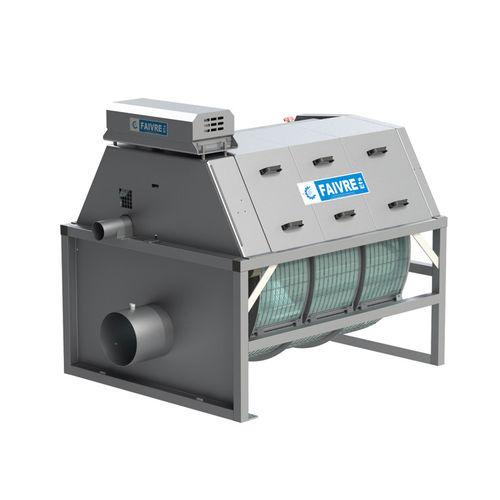 filtro de água salgada / para aquicultura / de tambor