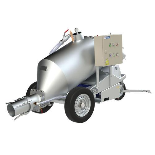 bomba para aquicultura / de vácuo / de água / autoescorvante