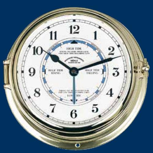 relógio indicador de marés