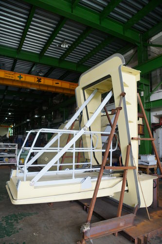 plataforma para operações de ancoragem porta