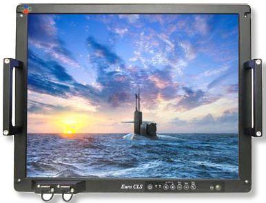 painel PC para navio / para barco / de embutir / resistente às vibrações