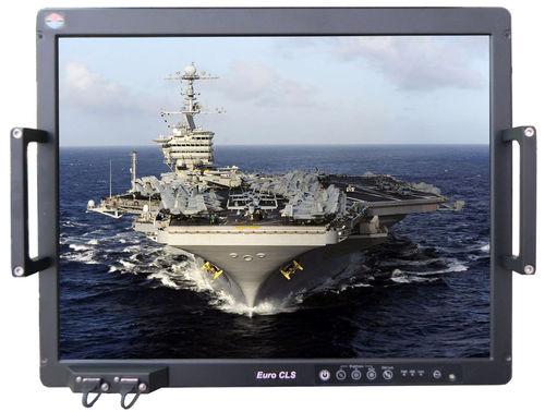 painel PC para navio / de embutir / resistente às vibrações / à prova de água