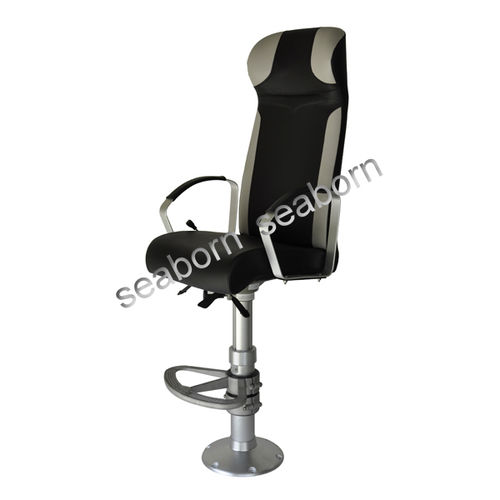 assento de piloto / para navio / com braços / com encosto alto