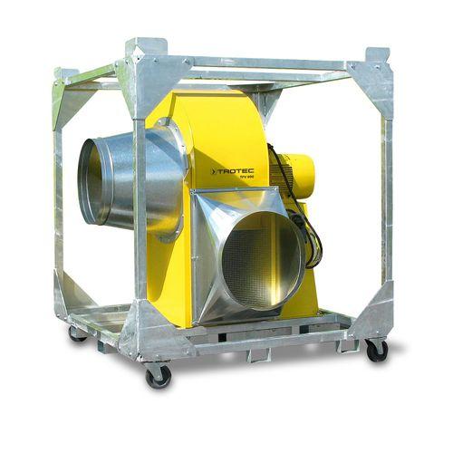 ventilador para estaleiro naval / para grandes volumes de ar / centrífugo / axial