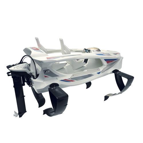 bote com motor de popa / elétrico / esportivo / de 2 lugares