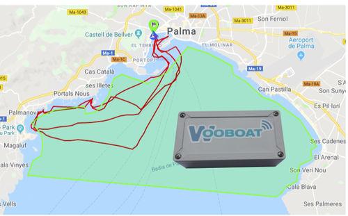 sistema de localização e acompanhamento / para barco / para charter / para bateria