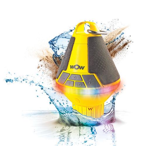 alto-falante portátil / à prova de água / de LED