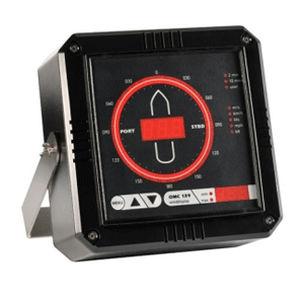 visor para veleiro / anemômetro / digital / de LED