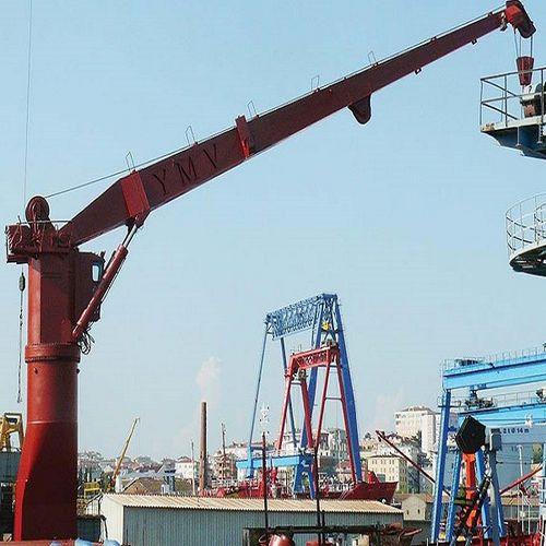 guindaste para navio / portuário / para estaleiro naval / flutuante
