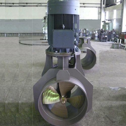 propulsor de proa / para navio / elétrico