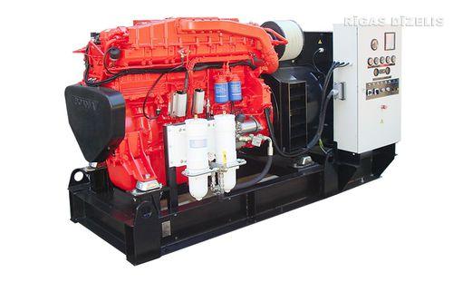 grupo gerador de energia para navio / a diesel / auxiliar