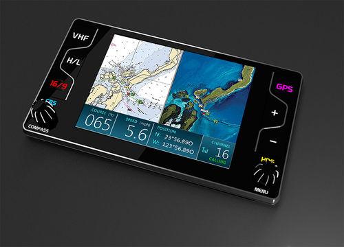 rádio náutico / portátil / VHF / com GPS integrado