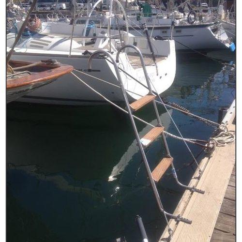 escada de embarque